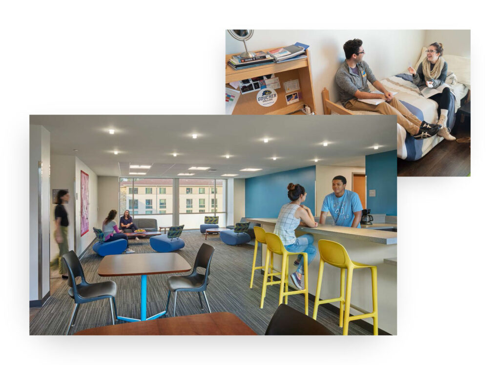 Living spaces in Seltz Hall