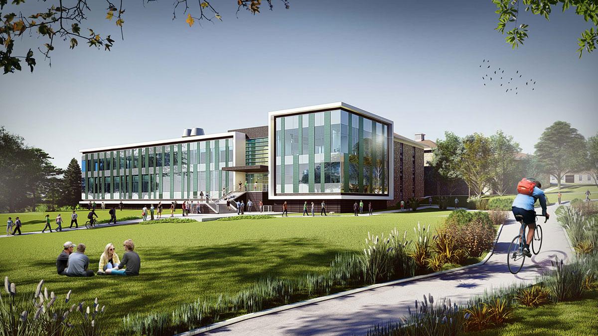 Artist rendering of Science Center